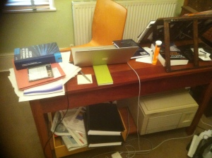 The author's other desk