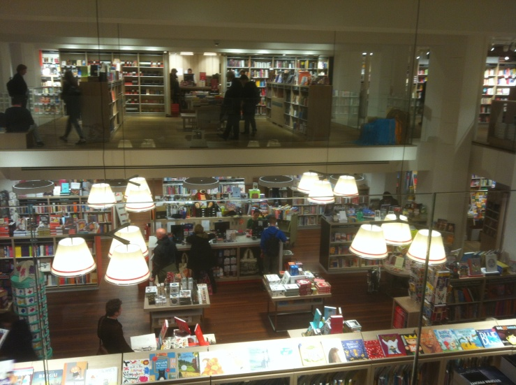 The shiny new Foyles