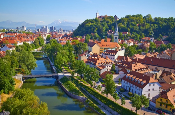 Ljubljana, venue for CoLIS10 in 2019