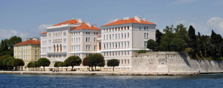 The University of Zadar; surely one of the most beautiful academic settings in the world